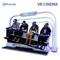 Quality Funin 9D Virtual Reality Simulator Leg Sweep Effect For Students for sale