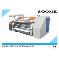 Single Ply Corrugated Cardboard Production Line Electric Control 380V 50Hz Manufactures