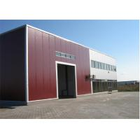 Metal Sheet Prefabricated Steel Structures Workshop With Insulation Wall Manufactures