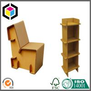 Strong Corrugated Furniture Desk; Shoe Cabinet Made of Cardboard Kraft Paper Manufactures