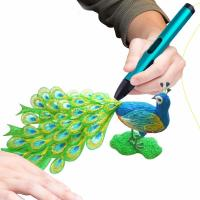 Screen High definition DW 3D Pen X4 Easily Control Four Color Available Manufactures