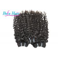 Tangle Free Wet And Wavy Weave Human Hair , Grade 7A Indian Virgin Hair Manufactures
