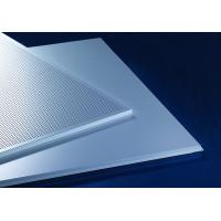 Acoustic Lay-In  Aluminum Metal Ceiling 600x600mm Prevents The Heat Loss Recycling Manufactures