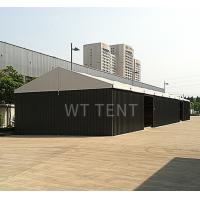 China Heavy Duty Temporary Warehouse Marquee Metal Steel Black Plates Walls on sale
