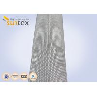 Industrial Fire Curtain Fiberglass Welding Cloth High Temperature Resistant