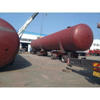 Above Ground LPG Gas Storage Tank For Propane Gas Depot Set Up 200 CBM 100 Ton Manufactures