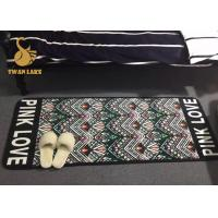 Flame Retardant Adults Bedroom Area Rugs With Non Slip Backing Sound Insulation Manufactures
