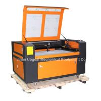 Embroidery Fabric Co2 Laser Cutting Machine with Japan CCD Camera  UG-1290 Manufactures