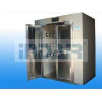 Medical Care Decontamination Air Shower Stainless Steel Floor Minimize Particle Generation Manufactures