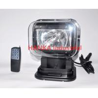 60w 360 Degree Offroad HID Searchlight ,  Xenon Rotating Marine Search Light Manufactures