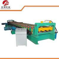 China Thick Metal Floor Deck Roll Forming Machine , Cold Roll Forming Machines on sale