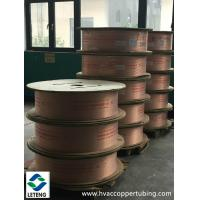 Seamless copper insulating heating pipes for refrigeration for Insulation for copper heating pipes