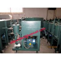 Plate Pressure Oil Purifier,Press Oil Filter Machine,Oil Filtration Equipment by filtering paper Manufactures