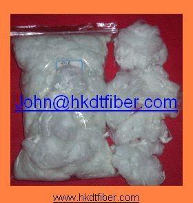 Quality 7d 64mm polyester staple fiber for filling toys, pillows, sofas for sale