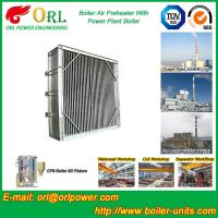 Plate Type Boiler Air Preheater Alloy Steel , Boiler APH Energy Saving Manufactures