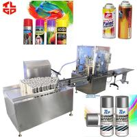Spray Paint Aerosol Filling Machines Manufactures