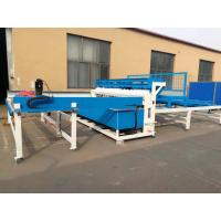 Semi Automatic Welded Fence Wire Mesh Welding Machine For European Fence Manufactures