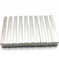 N45 Super Strong Neodymium Block Magnets , thickness 1mm neodymium magnet Strip Manufactures