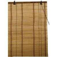 Roll Down Indoor Commercial Bamboo Window Blinds , Natural Bamboo Shades Manufactures