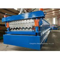 """1"""" Chain Driven Double Layer Roll Forming Machine For Warehouses / Garages Manufactures"""