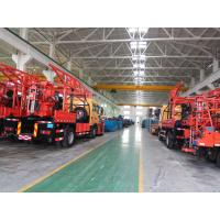 Quality Portable Truck Mounted Water Well Drilling Rig low speed but high torque speed grade (8 grades) for sale