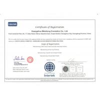 HUINI (INTERNATIONAL) BEAUTY CO. Certifications