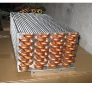 Cold / Hot Water Medium HVAC Heat Exchanger, 1.6MPa Operation  pressure Manufactures
