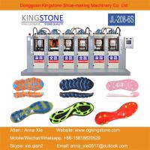 Kingstone Machinery Manufacturer 6 Stations PVC TPU TPR TR Shoe Sole Making Machine Manufactures
