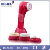 China OEM Private Label Skin Care Waterproof Electric Facial Cleansing Brush on sale