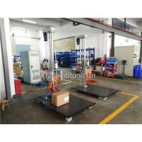 Drop Height 150 Cm Packaging Drop Test Machine Steel base 100 x 150 Cm Manufactures