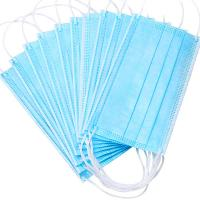 Nonwoven Anti Dust 3ply Civil Disposable Nose Mask Manufactures