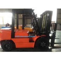 1T - 10T Diesel Powered Forklift , Counterbalance Forklift 1070*125*45mm Fork Size Manufactures