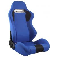 Adjustable Universal Automobile Sport Racing Seats With Double Or Single Slider Manufactures