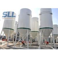 Different Volumes Mobile Cement Silo / Bulk Cement Storage System 3-10T Manufactures