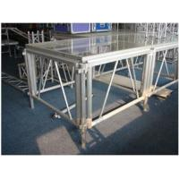Quality Portable Glass Acrylic Stage Platform For Performances 1.22 * 2.44M for sale