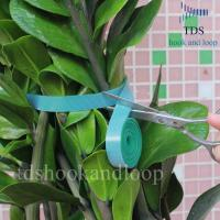Buy cheap Double Sided Reusable Cable Ties Hook And Loop DIY Cutting Adjustable Plant Ties from wholesalers