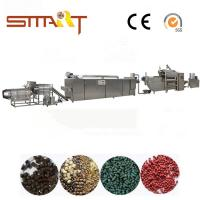 120-150kg / Hr Pet Food Extruder Machine Electric Power Automatic Fish Feed Machine Manufactures