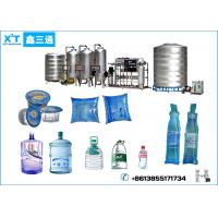 Desalination rate more than 98% Pure Water Treatment System for Drinking Water Beverage Line Manufactures