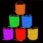 China Flex LED Neon light 80leds/M Warm white/cool white/R/G/B/RGB AC85-265V LED Neon rope light wholesale