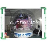 Durable Clear Inflatable Show Ball Digital Painting Inflatable Snow Globe for sale