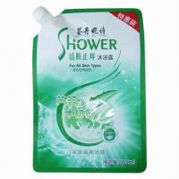 Shampoo and Liquid Detergent Spout Pouch, Aluminum Foil Material and Stand Up, Light Proof Manufactures