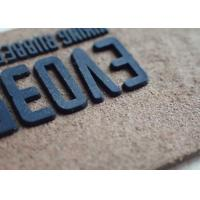 high quality logo garment silicone rubber label silicone composite patch Manufactures