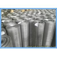 Ultra Fine Stainless Steel Woven Wire Mesh Sheets , 316L 30 Micron Woven Wire Cloth Manufactures