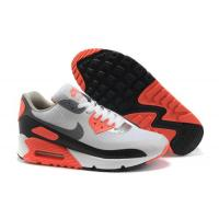 Cheap Nike Air Max 90  Gray Orange Black Womens Shoes Review tradingaaa.com Manufactures