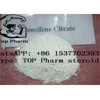 CAS 50-41-9 Natural Male Hormones , Clomiphene Citrate For Men 99% Purity Manufactures