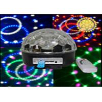 Quality Guangzhou Desco Stage Light 15W Led Crystal Magic Ball Light RGB Effect Lighting for sale