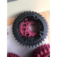 China Red / Black Anodized CNC Machining Parts for Bicycle Accessories / Toothed Wheel on sale