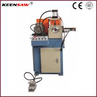 China Single End Chamfering Machine For Metal Pipe / Tube / Solid Bar Chamfer and End Facing on sale