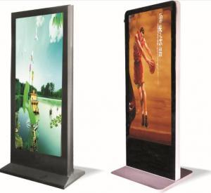 Aluminum 55 inch Floor Standing P3 Led Advertising Player For Shopping Malls