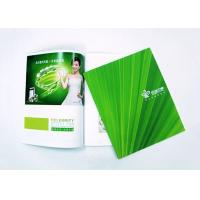 China Promotional A4 Booklet Printing , Tri Fold Brochure Printing Services Panton Color on sale